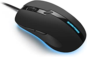 Sharkoon Shark Force Pro Mouse - Black, 000SKSFPROBK