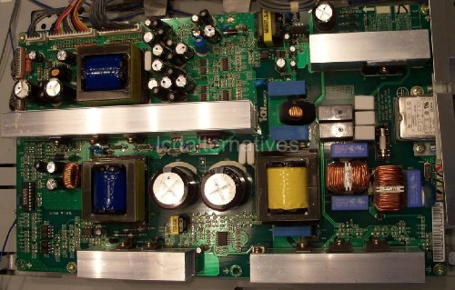 LG 37LP1D LCD TV Repair Kit, Capacitors Only, Not The Entire Board