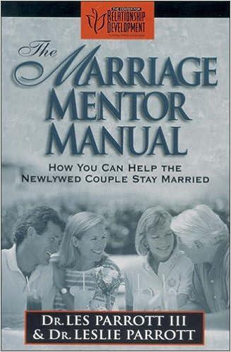 514ff81efe2 Marriage Mentor Manual, The: Les Parrott, Leslie Parrott: 0025986501310:  Amazon.com: Books