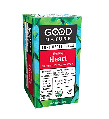 Good Nature Healthy Tea, Heart, 1.06 Ounces