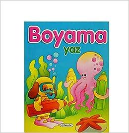 Mevsimler Boyama Yaz Kolektif Civciv Kitaplar Amazoncomtr Yakala