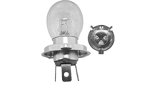 Vintage Arctic Cat Polaris Snowmobile Sealed Beam Replacement Headlamp 12V 60W
