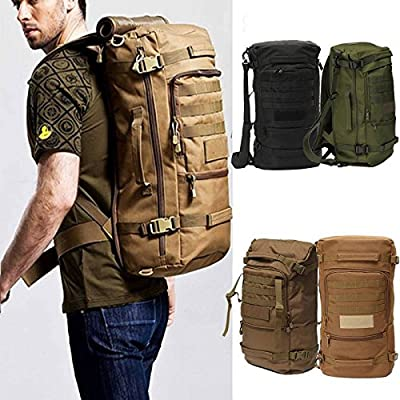 CAMTOA Military Tactical 45L Backpack Daypack Shoulder Bag Waterproof Travel Backpack Daypack for Hiking Camping Travel