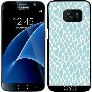 Funda para Samsung Galaxy S7 - Azul Del Estampado De Animales 03 by Aloke Design