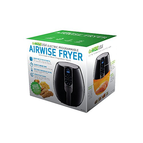 GoWISE USA GW22638 8-in-1 Electric Air Fryer 2.0