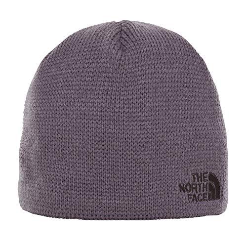 The North Face Youth Bones Beanie Medium Graphite Grey/TNF (Tnf Logo Beanie)