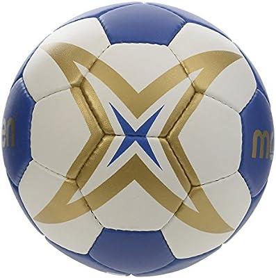 Molten HX1700 - Balón de Balonmano, Benjamín-niños, Blanco y Azul ...