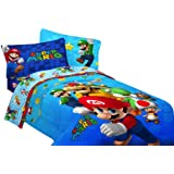 Nintendo Super Mario Fresh Look Sheet Set, Full