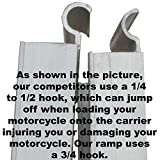 Double Motorcycle or Dirt Bike Carrier 600 lb