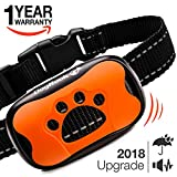 #10: Dog Bark Collar Upgrade 2018 - Vibration No Shock Collar - Humane Anti Bark Training Collar - Stop Barking Collar for Small Medium Large Dogs - Best No Bark Control Collar - Pet Safe Waterproof Device