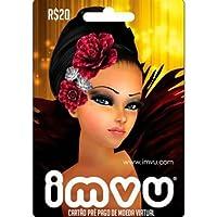Cartão IMVU R$ 20 Reais Pré-pago Gift Card