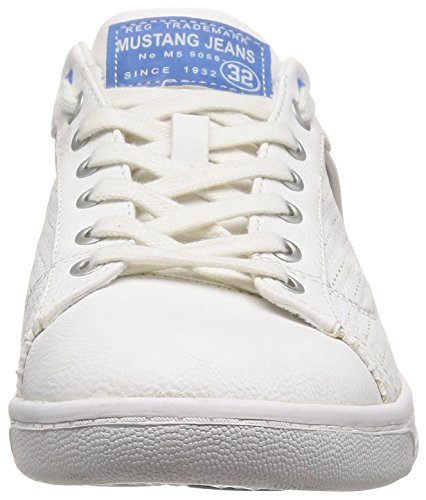 Mustang Baskets Blanc/Bleu