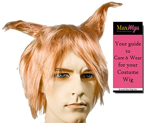 Flock of Seagulls Color Mixed Blonde - Lacey Wigs 1980s New Wave Band Mike Score WigBundle With MaxWigs Costume Wig Care -