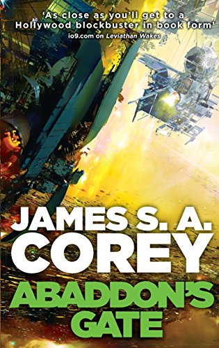 Abaddon's Gate. The Expanse vol 3 book cover