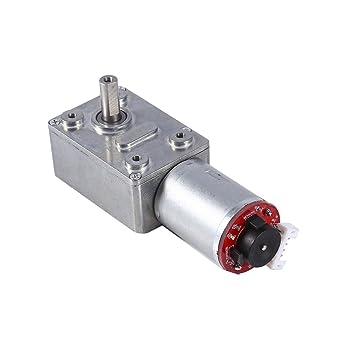DC12V Schneckengetriebe Getriebemotor Drehzahlregler mit Encoder 10-100RPM