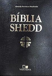 Bíblia Shedd - Luxo - covertex preta