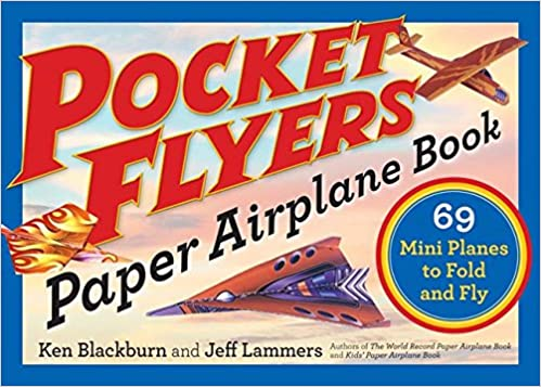 amazon pocket flyers paper airplane book 69 mini planes to fold