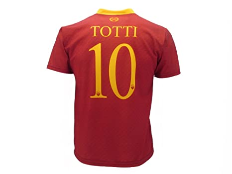 6eb307ac9 AS Roma Maglia Totti Roma 2019 Ufficiale stagione 2018/2019 Replica  Autorizzata Francesco Totti numero
