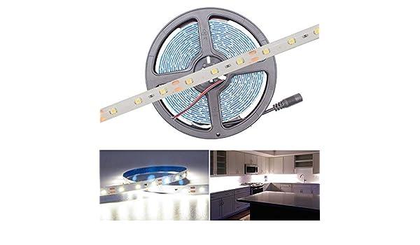 Hitlights - Tira de luces LED flexible, de 5 m de longitud y 300 luces, de color azul: Amazon.es: Instrumentos musicales