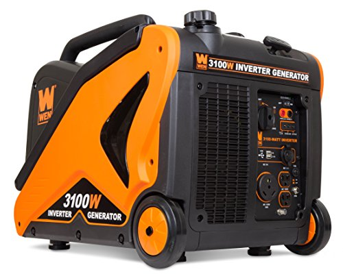 WEN 56310i-RV Super Quiet 3100-Watt RV-Ready Portable Inverter Generator Carb Compliant (Best Generator For Tailgating)