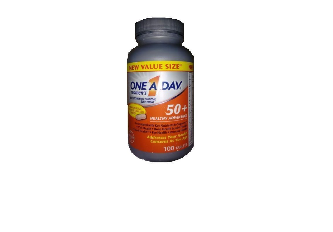 One A Day Women s 50 Advantage Multivitamins, 120 Count