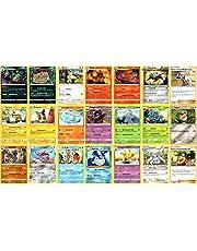 Pokemon Kaarten met 20 verschillende zeldzame kaarten + 1 zeldzame reverse Holo Duits - willekeurige selectie