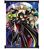 """Code Geass: Lelouch of the Rebellion Anime Fabric Wall Scroll Poster (16""""x22"""") Inches"""