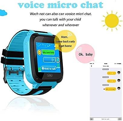 Amazon.com: Vuffuw Waterproof Kids Smartwatch, 1.44 inch ...