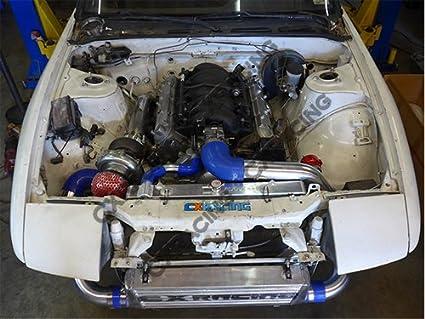 cxracing Intercooler Piping Kit 50mm BOV for S13 S14 240SX LS1 LS Turbo Swap