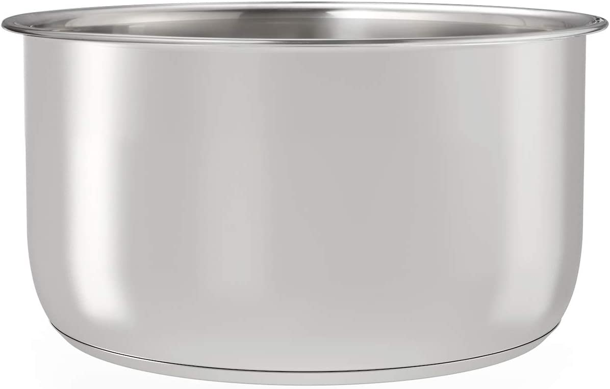 Goldlion Stainless Steel Inner Pot Compatible with Ninja Foodi 6.5 Quart Replacement Insert Liner Accessory