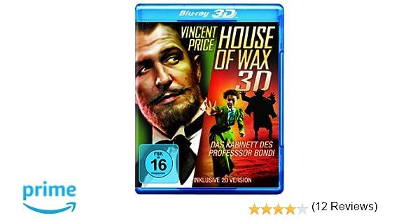 House of Wax - Das Kabinett des Professor Bondi Blu-ray 3D + ...