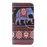 UNEXTATI Galaxy J2 Case, Flip Leather Case with Silicone Cover, Magnet Closure, Card-Slot, Kickstand, PU Wallet Case for Samsung GalaxyJ2 (P3 Brown?