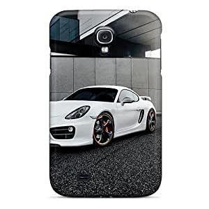 Hot Mqn4263KHqp Techart Porsche Cayman 2014 Tpu Cases Covers Compatible With Galaxy S4