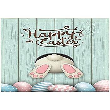 Amazon Com Nymb Cartoon Bath Rugs Funny Rabbit Wooden