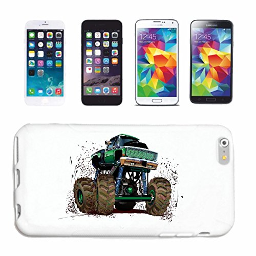 "cas de téléphone iPhone 7S ""OFF ROAD 4X4 MONSTER TRUCK 4 × 4 LANDROVER BUGGY AUTOCROSS Stockcar RACE"" Hard Case Cover Téléphone Covers Smart Cover pour Apple iPhone en blanc"