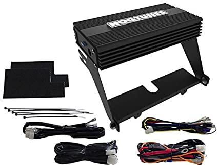 amazon com hogtunes nca 450 aa 200 watt 4 channel amp kit for 2000 rh amazon com Hogtunes Amp Install Honda Wiring Diagram