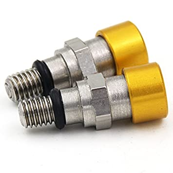 Motorrad-Gabel-Luft-Entl/üfter-Druckentlastung M5 0.8MM f/ür Honda CR125 CR250 CRF250R CRF450R