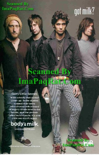 All American Rejects Posters - Got Milk? All-American Rejects: 'Dairy' Dirty Little Secret: Great Original Photo Print Ad!