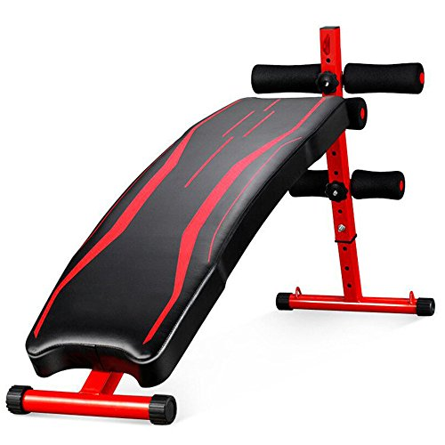 Sit-up Exerciser Board Supine Board/Sit-up Fitness Equipment/Home Abdomen Multi-function Abdominal Muscles Dumbbell Bench /Applicable Place:The Living Room,The Balcony,The Bedroom,The Office And So On