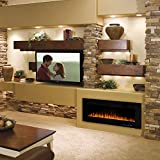 Waleaf Electric Fireplace Recessed and