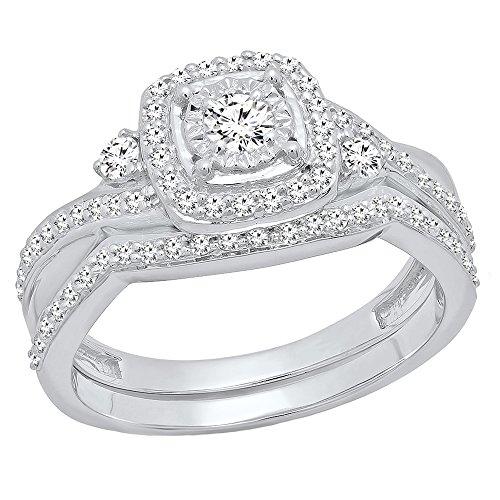 0.55 Ct Diamond Set - 7