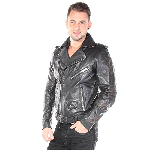 DIESEL leather jacket mod. L-SLEDYC