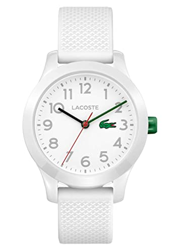 acf75ba9000 Lacoste Unisex-Kids Analogue Classic Quartz Connected Wrist Watch with  Silicone Strap 2030003: Amazon.co.uk: Watches