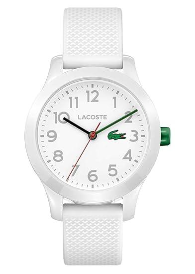 Lacoste Reloj Análogo clásico para Niños de Cuarzo con Correa en Silicona 2030003: Amazon.es: Relojes