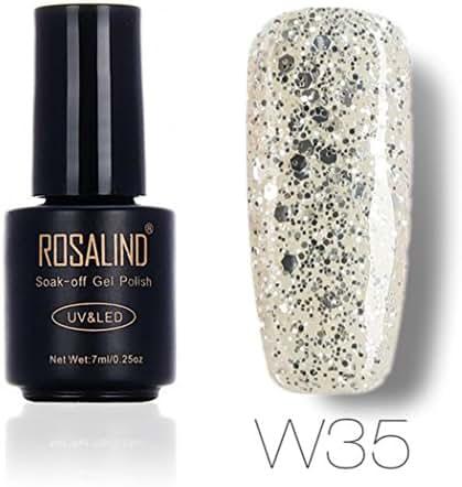 Women's Nail Polish, Iuhan 7ML Gel Nail Polish Nail Art Nail Gel Polish UV LED Gel Polish (F)