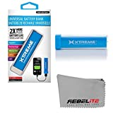 Rebelite Charge Champion Universal External Battery w/ 2600mAh for Rapid Charging, for iPhone, iPod, iPad, Samsung Galaxy, & other smart phones, tablets, & mp3 players by Rebelite