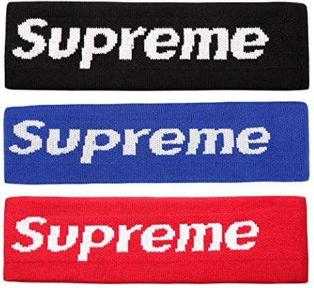 The Mass Sweatband Supreme Headband Perfect for Basketball, Running, Football, Tennis Fits For Man And Women