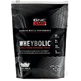 GNC AMP Wheybolic Whey Protein Powder, Classic Vanilla, 10 Servings, Contains 40 Protein, 15g BCAA, and 10g Leucine Per Serving