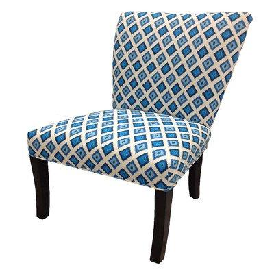 amazon com nile cotton wingback cotton slipper chair set of 2