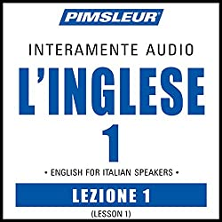 ESL Italian Phase 1, Unit 01